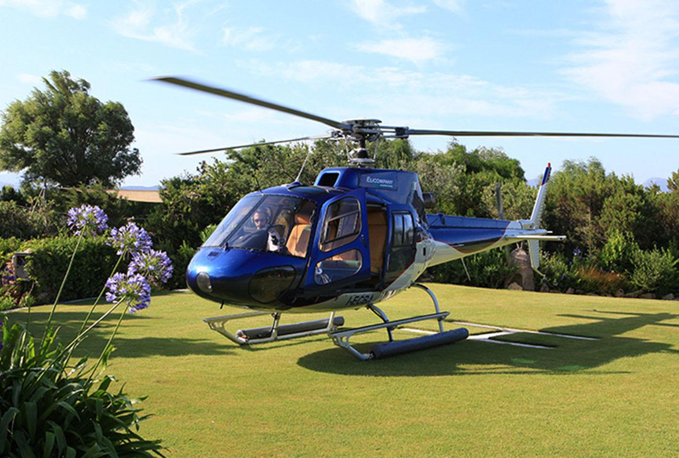 Elicottero Piccolo : Escursioni in elicottero hotel porto piccolo