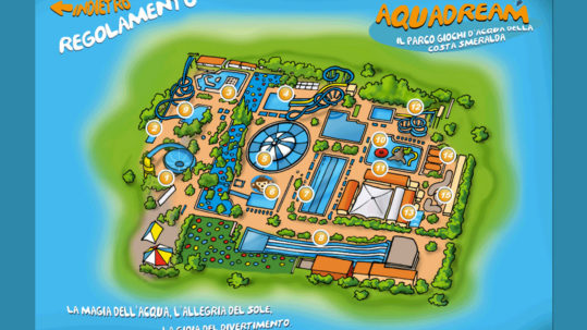 Aquadream, parco acquatico, Hotel Porto Piccolo, residence, appartamenti in Sardegna
